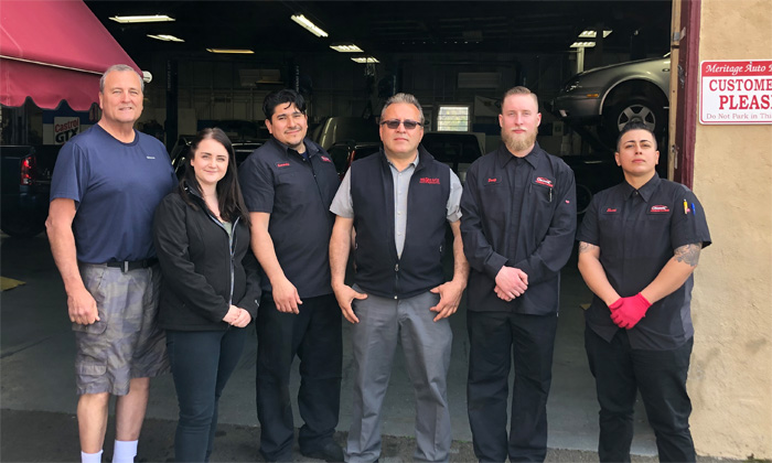 Meritage Automotive Staff